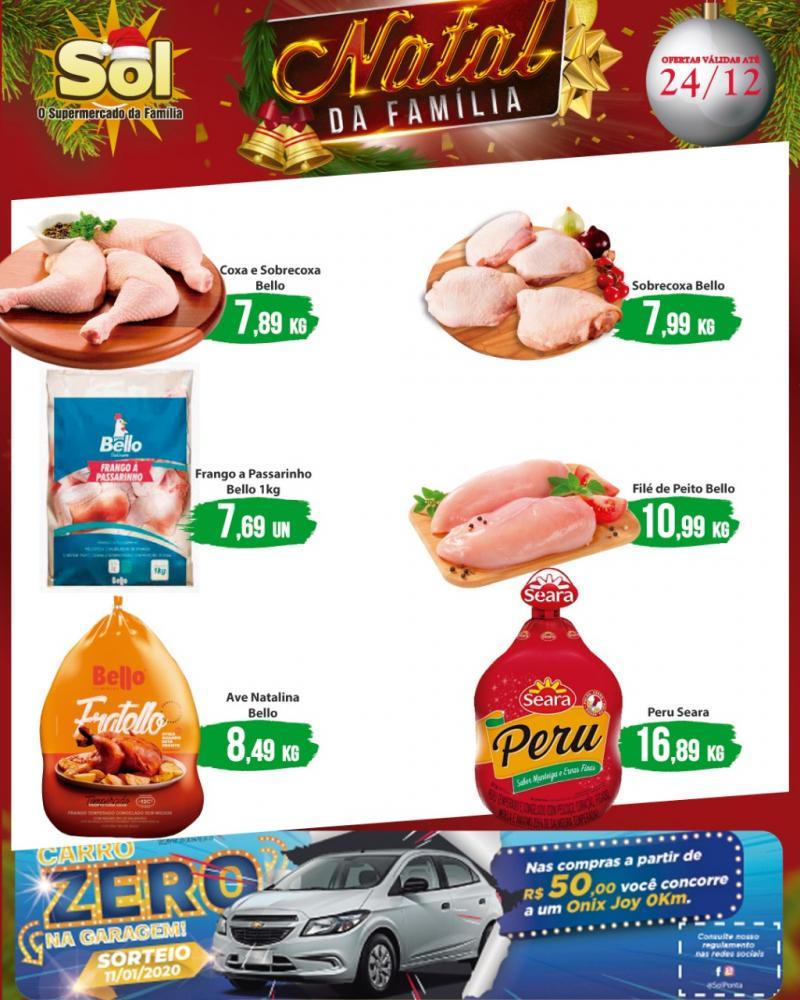 Aproveitem as ofertas don Supermercado Sol nesta Sexta da Carne