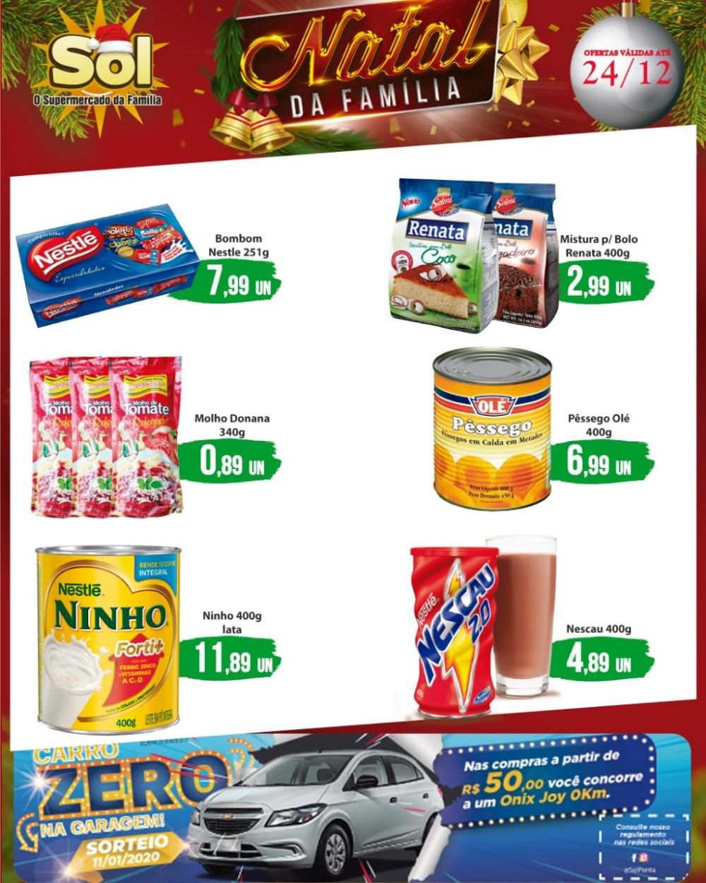 Supermercado Sol com suas promoçoes da Sexta da Carne