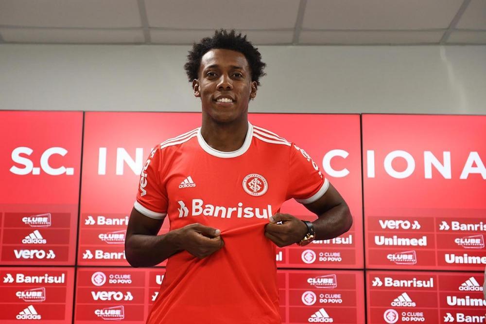 Clube apresentou atleta hoje - Foto: Foto: Divulgação/Internacional