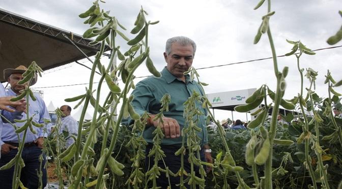 Governador participou da abertura da feira de tecnologias do agro - Foto: Chico Ribeiro/Subcom