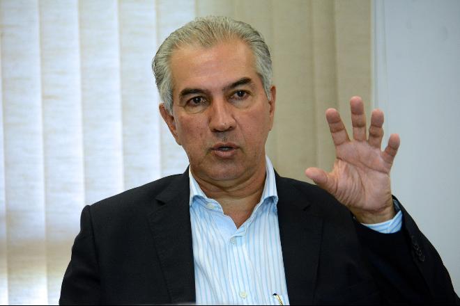 Governador do Estado, Reinaldo Azambuja - Bruno Henrique/Arquivo/Correio do Estado