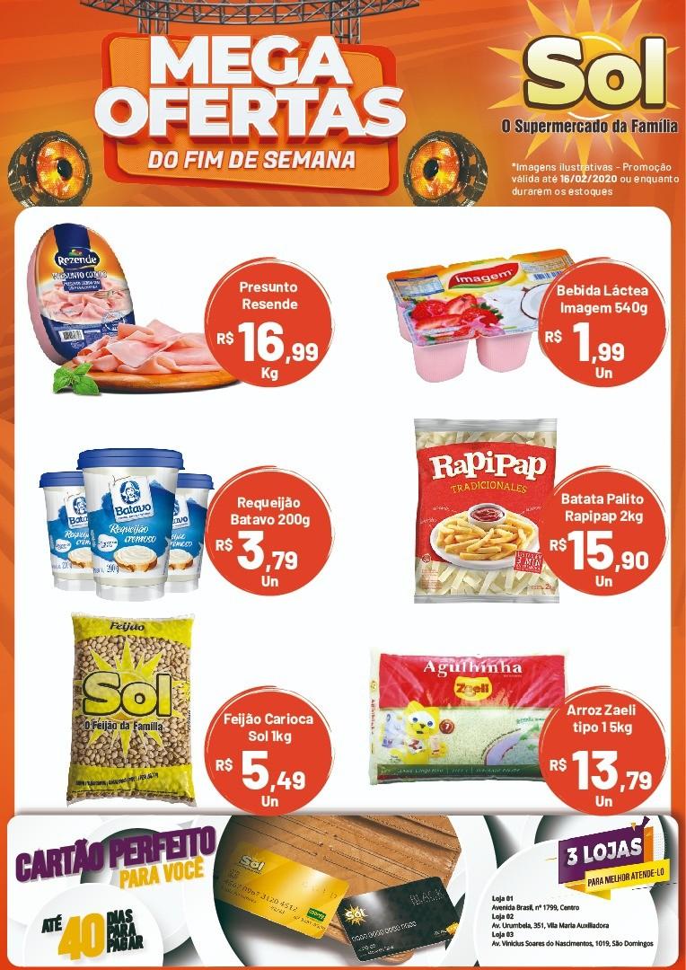 Façam suas compras nesta Sexta da Carne no Supermercado Sol com ofertas para o Final de Semana