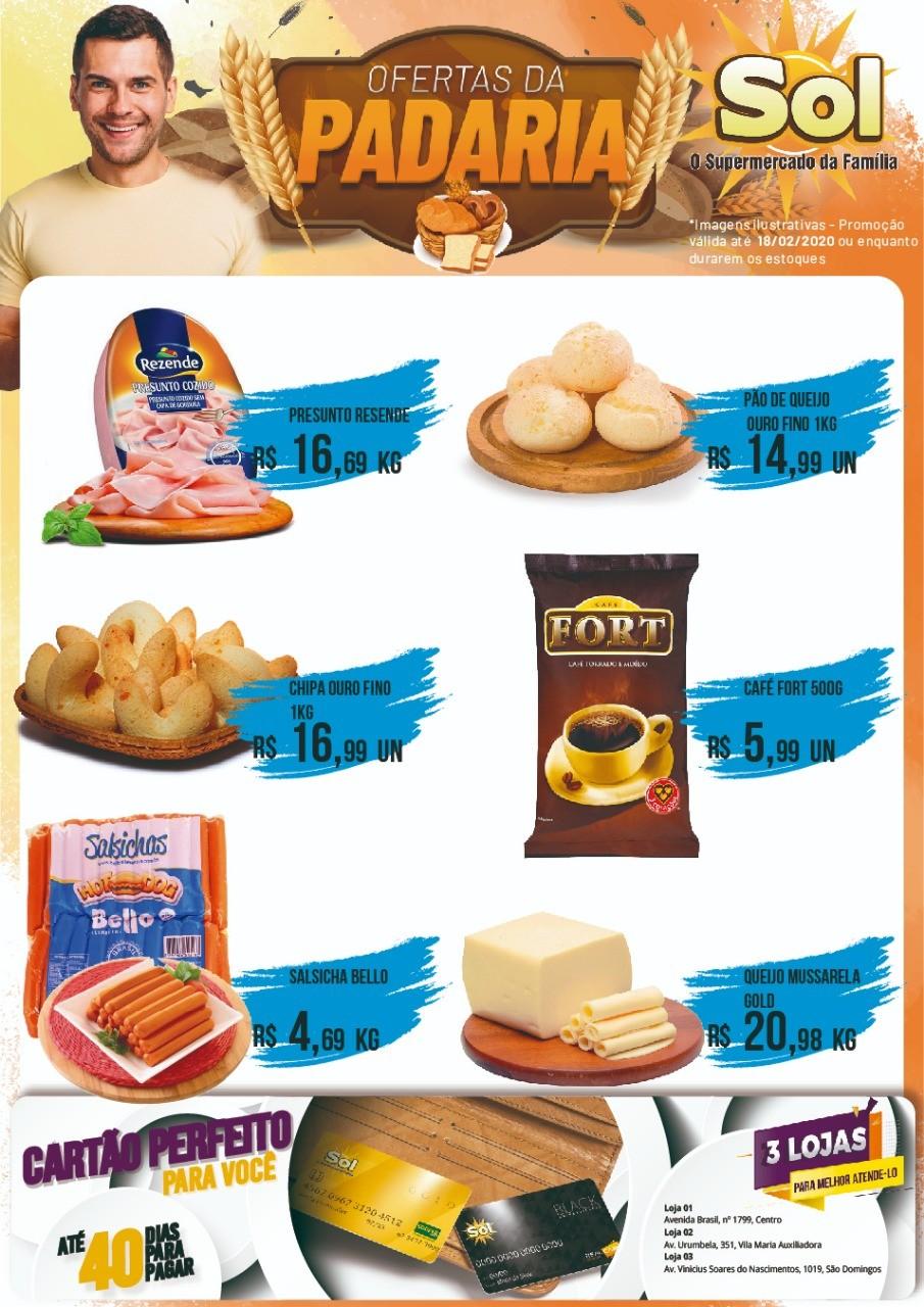 Façam suas compras nesta Terça da Carne com Osso e aproveitem as ofertas da Padaria
