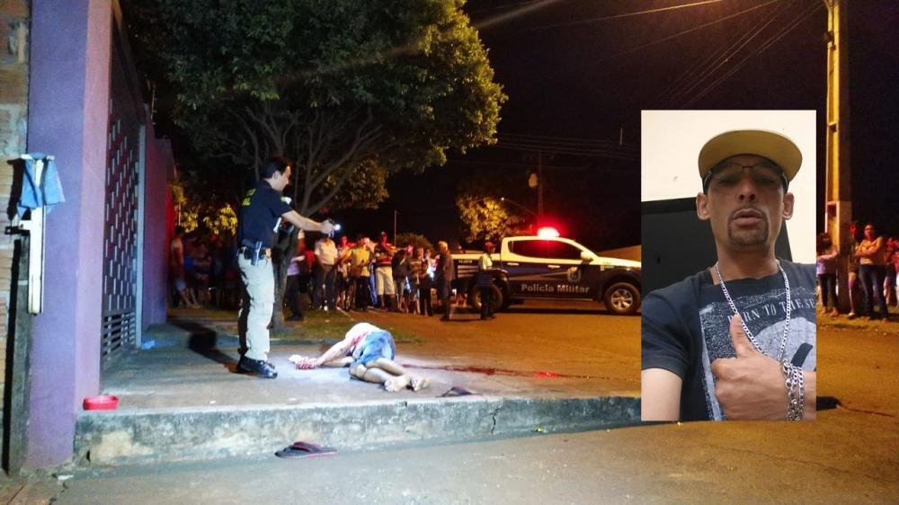 Vítima foi baleada aproximadamente 10 vezes - Crédito: Osvaldo Duarte/Dourados News