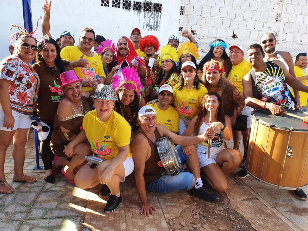 Bloco dos Sujos na Avenida Brasil