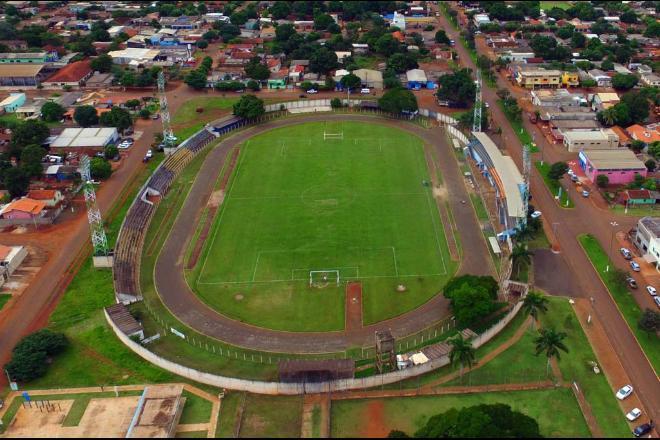 Estádio Luiz Gonzaga Prata Braga, o