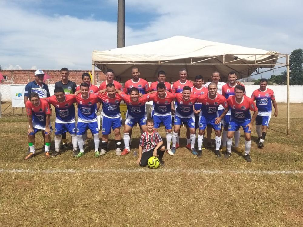 Equipe de Ponta Porã, representando o Município na sua estréia na 17ª Copa Assomasul 2020