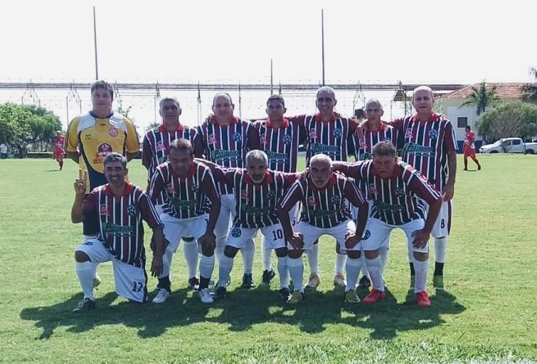A equipe do Tereré E.C. que venceu no último domingo