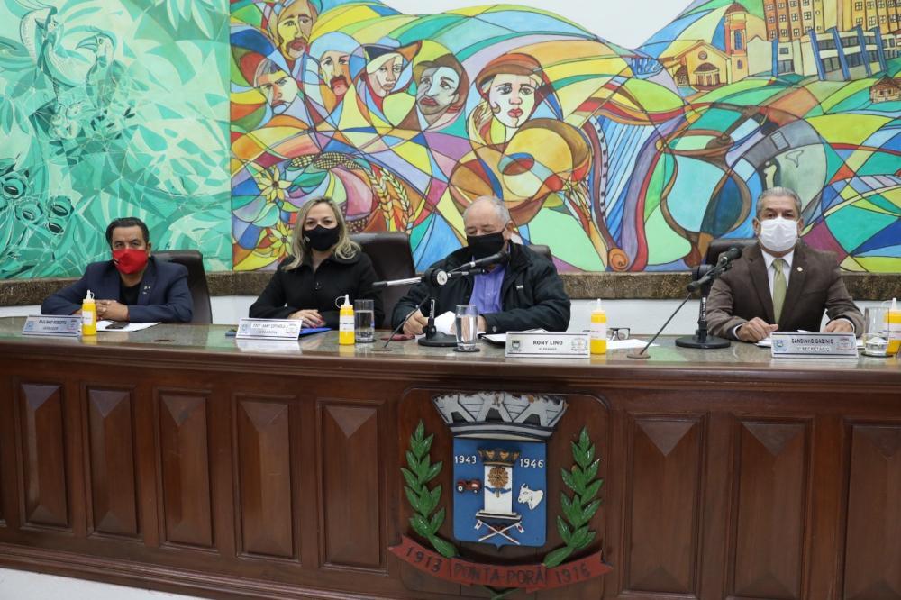 Câmara Municipal de Ponta Porã iniciou votação da Lei de Diretrizes Orçamentárias