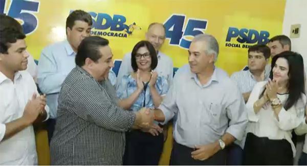 Prefeito de Corumbá ingressa no PSDB