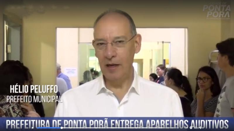 Prefeitura de Ponta Porã entrega aparelhos auditivos