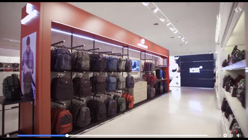 Conheça o espaço Victorinox, a marca que combina qualidade e estilo, aqui no Shopping China!