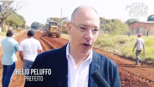 Pavimentação no Bairro Alegrete