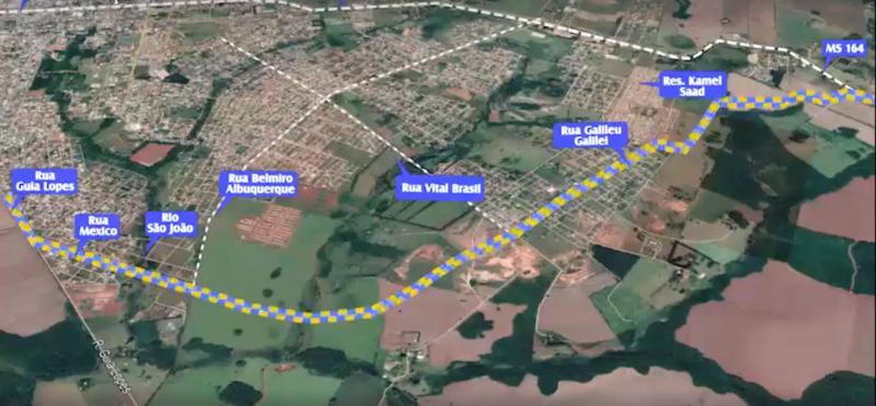 Contorno rodoviário norte - 8 km