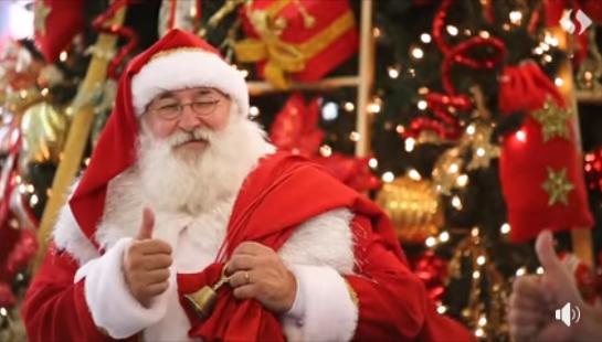 O Papai Noel já esta no Shopping China, abrindo a temporada de natal! traga toda a sua familia e venha curtir!