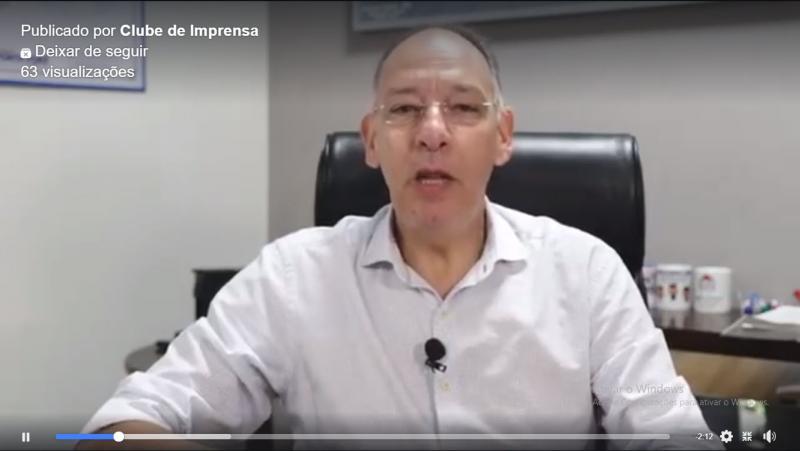 Helio Peluffo Filho esclarece população de Ponta Porã-MS