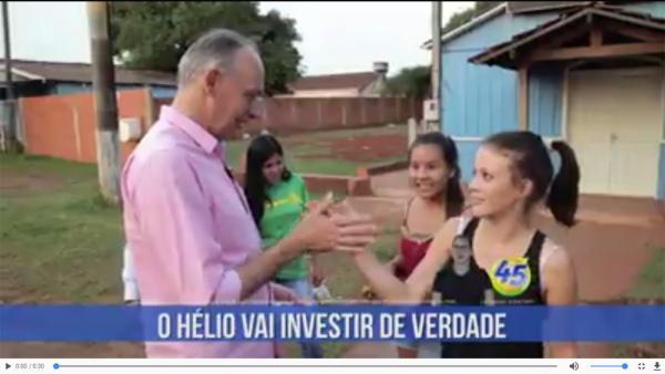 O Hélio vai investir de verdade na Educação