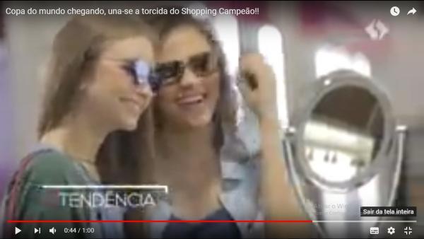 Copa do mundo chegando, una-se a torcida do Shopping Campeão!