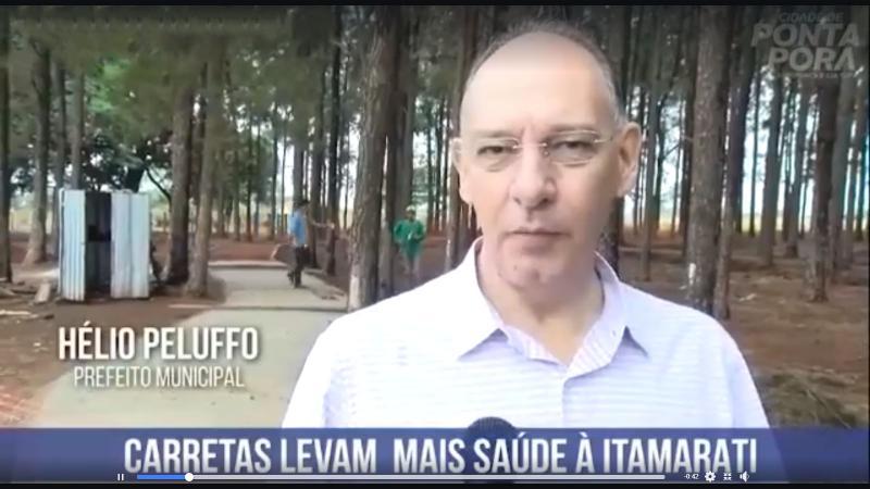 Carretas levam mais saúde à Itamarati